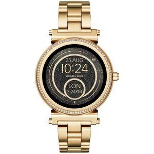 Michael Kors Gold Unisex Smart Watch MKT5021
